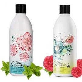 Bộ dầu gội Queen Perfume nhân sâm Hàn Quốc và dầu hoa trà ngăn rụng tóc
