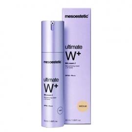Kem trang điểm dưỡng trắng Mesoestetic Ultimate W+ Whitening BB Cream Light SPF50