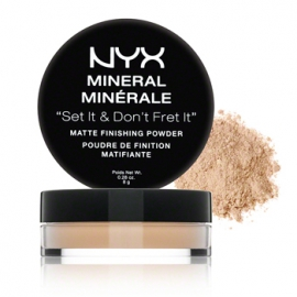 Phấn bột NYX mineral Set it & Don`t fret it
