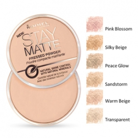 Phấn phủ Rimmel London Stay Matte Powder
