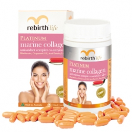 TPCN Viên nang Rebirth Platinum Marine Collagen