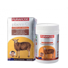 Nhau thai cừu Purarose (3000mg x 60 viên)