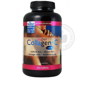 Viên uống nuôi dưỡng làn da Neocell Collagen kết hợp vitamin C (250 viên)