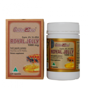 Sữa Ong Chúa Golden Care Royal Jelly (1000 mg x 120 Viên)