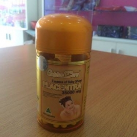 Nhau Thai Cừu Golden Care 35.000mg (100 viên)