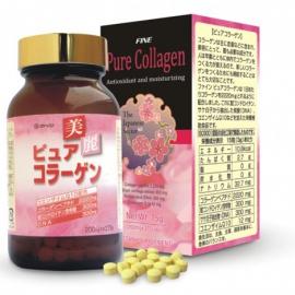 Fine Pure Collagen Q chống lão hóa với công thức 7 trong 1 tái sinh làn da đẹp