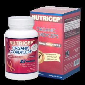 Đông trùng hạ thảo Nutricep Organic Cordyceps
