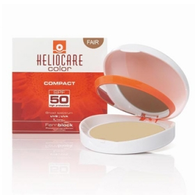 Phấn nền chống nắng màu da Heliocare Compact Light SPF 50