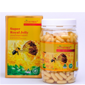 Sữa Ong Chúa Vitatree Super Royal Jelly (365 Viên x 1600mg)