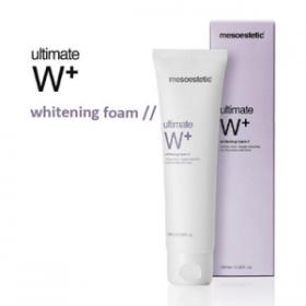Sữa rửa mặt trắng da tạo bọt Mesoestetic Ultimate W+ Whitening Foam