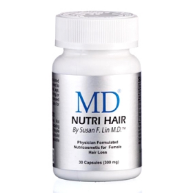 MD Nutri Hair - Viên Uống Mọc Tóc, Trị Hói Đầu Từ Bên Trong