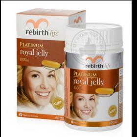 Viên Uống sữa ong chúa Rebirth Platinum Royal Jelly
