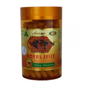 Sữa Ong Chúa Úc Amax Royal Jelly 1000mg x 200viên