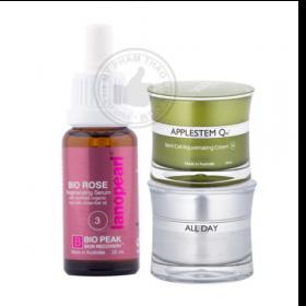 Bộ sản phẩm giải độc tố, tái tạo,phục hồi da Lanopearl Applestem Q10 Skin Detox