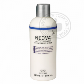Sửa Rửa Mặt Neova Antioxidant Milk Cleansing Milk Dành Cho Da Nhạy Cảm
