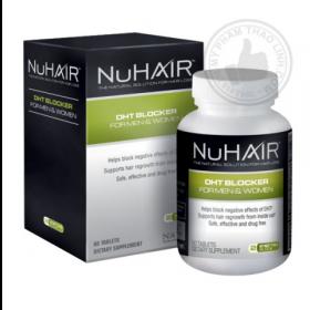 Viên uống trị rụng tóc, giúp mọc tóc NuHair DHT Blocker for Men & Women