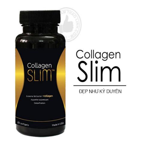Viên Giảm Cân Đẹp Da Của MC Kỳ Duyên Collagen Slim