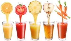 Thay đổi kế hoạch giảm cân bằng nước ép trái cây