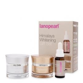Bộ kem trị nám và làm trắng da Lanopearl Himalaya Whitening Gift Set của Úc