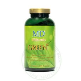MD Ultimate Green - Thuốc Viên Uống Trị Mụn  ,Mát Gan Giải Độc Hiệu Quả